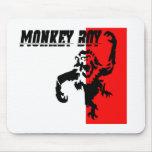 Monkey Boy Mouse Pad