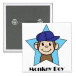 Monkey Boy Pins