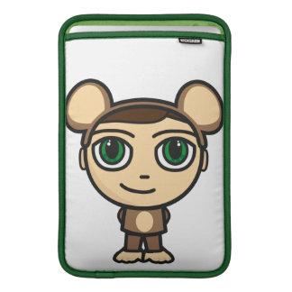 Monkey Boy Rickshaw Macbook Air Sleeve
