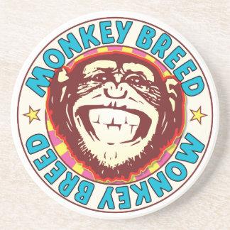 Monkey Breed Beverage Coasters