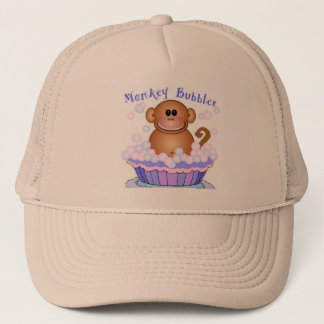 Monkey Bubbles Trucker Hat