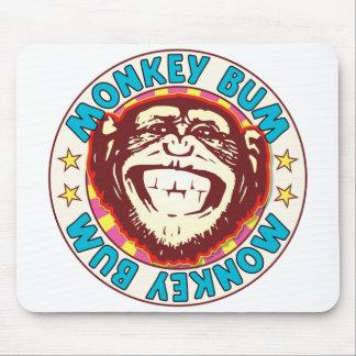 Monkey Bum Mouse Pad