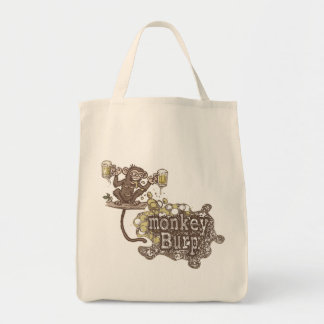 Monkey Burp Beer Drinking Shirts and Gift Ideas Tote Bag