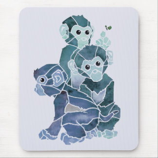 """Monkey Business 2"" Mouse Pad"