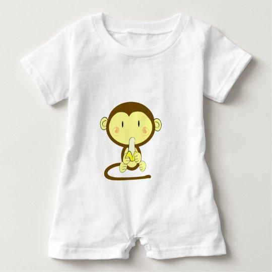 Monkey Business Baby Romper
