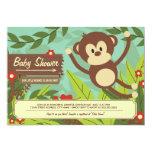 Monkey Business Baby Shower Invites