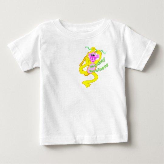 Monkey Business Baby T-Shirt