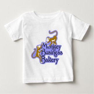 Monkey Business Bakery Baby T-Shirt