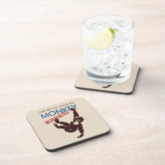 Monkey Business Beverage Coaster