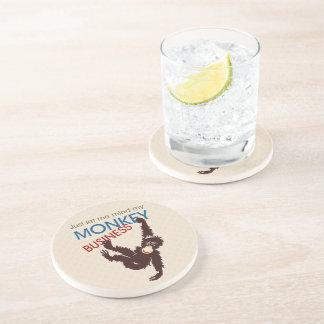 Monkey Business Beverage Coasters