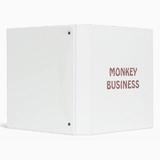 MONKEY BUSINESS BINDER