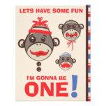 Monkey Business Birthday Party Invitation