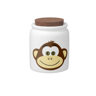 Monkey Business Candy-Cookie Jar Candy Jars