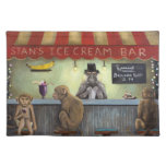 Monkey Business Cloth Place Mat