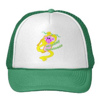 Monkey Business Mesh Hats