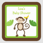 Monkey Business Jungle Envelope Seals Stickers