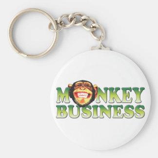 Monkey Business Key Chain