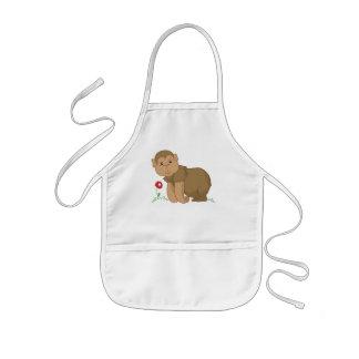 monkey business kids' apron