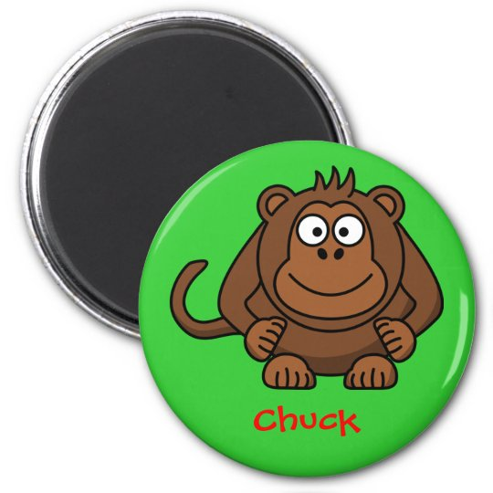 Monkey business magnet