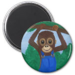 Monkey Business Magnet
