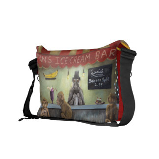 Monkey Business Courier Bag