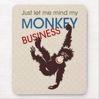 Monkey Business Mouse Pad