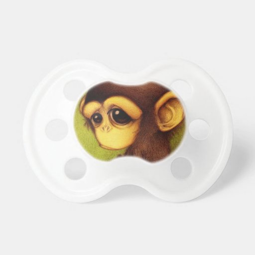 Monkey Business Pacifiers