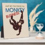 Monkey Business Photo Plaques