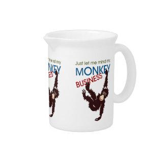 Monkey Business Beverage Pitcher