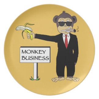 Monkey Business Party Plates