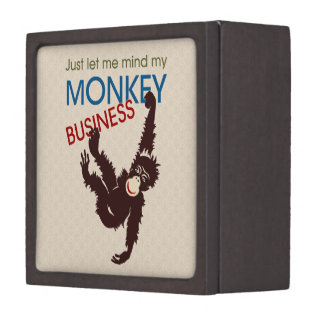 Monkey Business Premium Jewelry Box