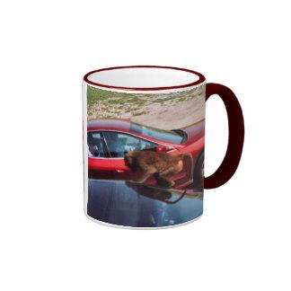 Monkey Business Ringer Mug