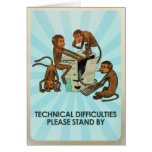 Monkey Business - Technical Difficulties Card