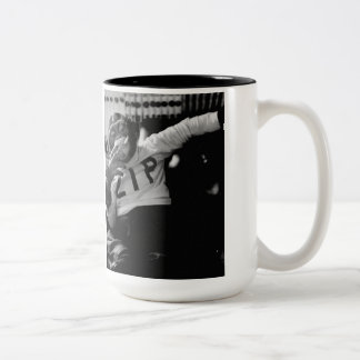 Monkey Business Two-Tone Coffee Mug