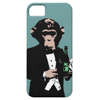 Monkey Butler iPhone 5 Cases