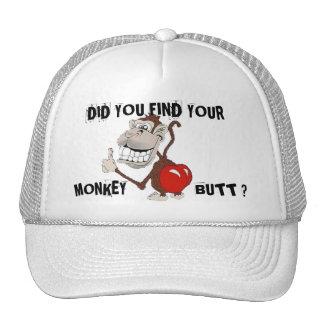 MONKEY BUTT TRUCKER HAT