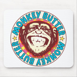 Monkey Butter Mouse Pad