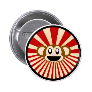 Monkey! Pinback Buttons