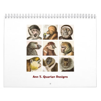 Monkey Calendar