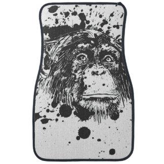 Monkey Car Floor Mat