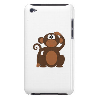 Monkey cartoon barely there iPod cover