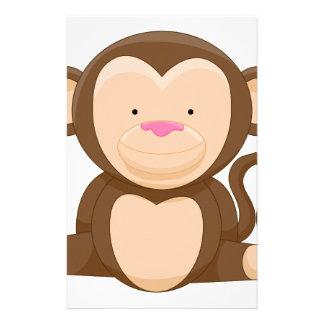 Monkey Cartoon Character Stationery