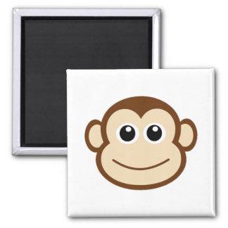 Monkey Cartoon Magnet