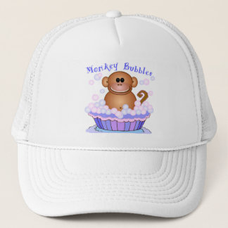 Monkey Cartoon Trucker Hat