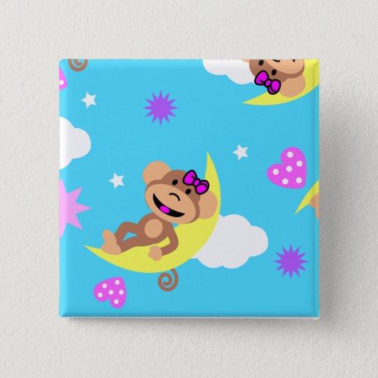 monkey  celestial button