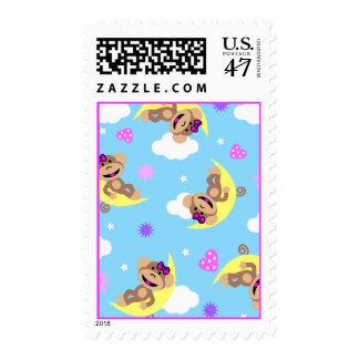 monkey  celestial postage