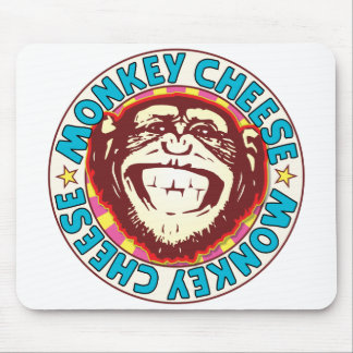 Monkey Cheese Mouse Pad