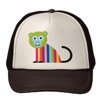 Monkey Chimp Cute Colorful Cartoon Animal Hats