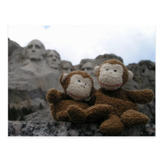monkey_chimp_rushmore.JPG Postcard