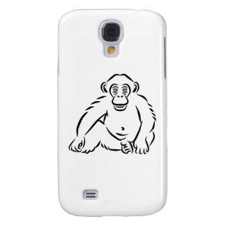 Monkey chimpanzee galaxy s4 covers